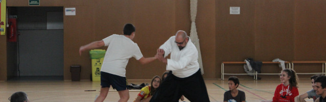L'associació Aikido Makoto inicia les classes d'aikido per a adults