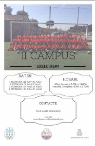 Cartell Campus Soccer Dream 2017.